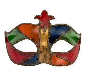 Glitter Mardi Gras Masquerade Mask