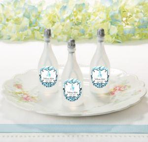 Personalized Baby Bubbles (Printed Label) (Blue Safari)