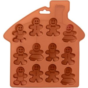 Small Gingerbread Man Treat Mold