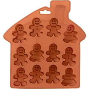 Small Gingerbread Man Treat Mold