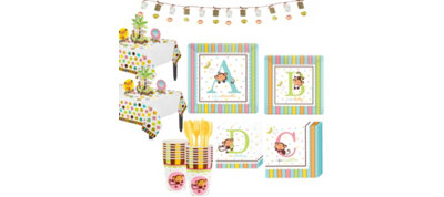 Fisher Price ABC Baby Shower Kit 18 guests