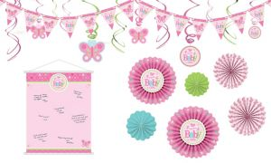 Girl Welcome Little One Decorations Shower Kit