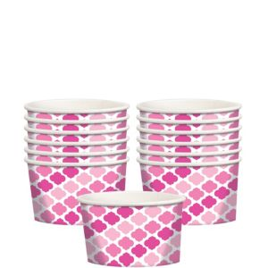 Pink Moroccan Treat Cups 12ct