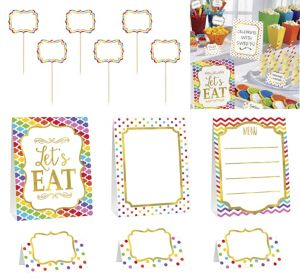 Bright Buffet Decorating Kit 12pc