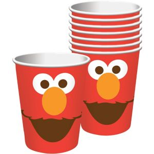 Elmo Cups 8ct