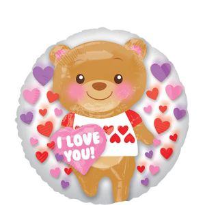 Teddy Bear Valentine's Day Balloon - Insider