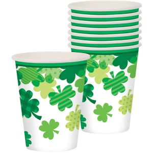 Blooming Shamrock Cups 18ct