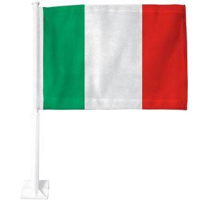 Italian Flag Car Flag