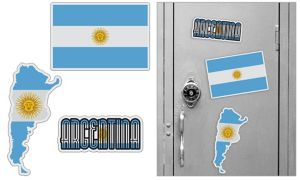 Argentinian Magnets 3pc
