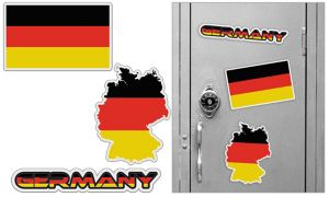 German Magnets 3pc