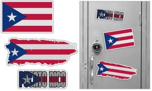Puerto Rican Magnets 3pc
