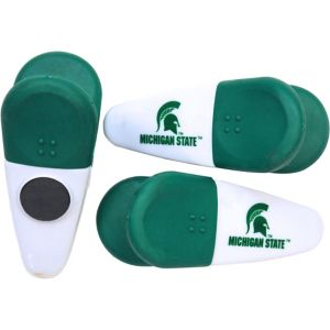 Michigan State Spartans Magnetic Bag Clips 3ct