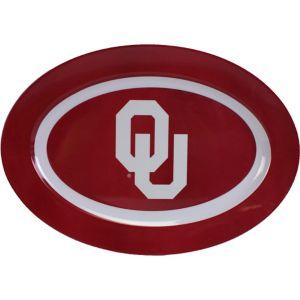 Oklahoma Sooners Oval Platter