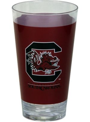 South Carolina Gamecocks Double Wall Tumbler with Straw