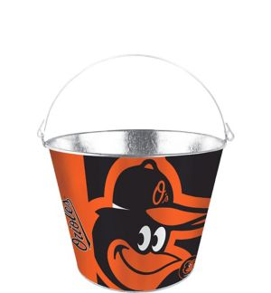 Baltimore Orioles Galvanized Bucket