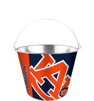 Auburn Tigers Galvanized Bucket