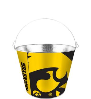 Iowa Hawkeyes Galvanized Bucket