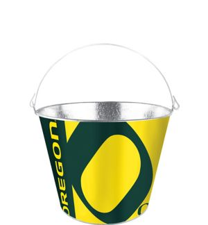 Oregon Ducks Galvanized Bucket