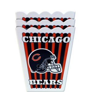 Chicago Bears Popcorn Boxes 3ct