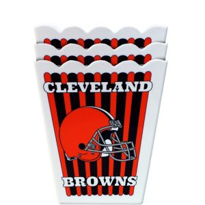 Cleveland Browns Popcorn Boxes 3ct