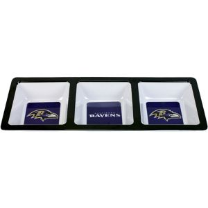 Baltimore Ravens Divided Snack Tray