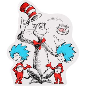 Cat in the Hat Cutout - Dr. Seuss