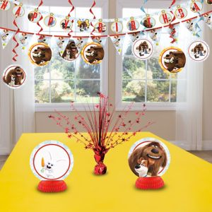Secret Life of Pets Decoration Kit
