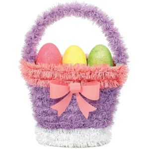 Tinsel Easter Basket