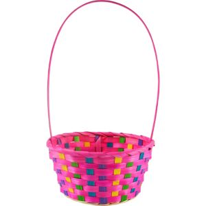 Small Pink Easter Basket