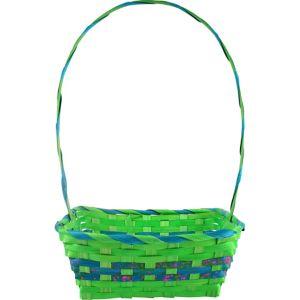Medium Green Square Easter Basket