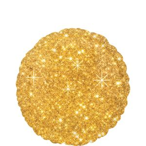 Gold Sparkling Balloon
