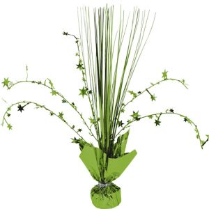 Kiwi Green Spray Centerpiece