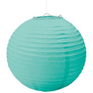 Large Robin's Egg Blue Paper Lantern