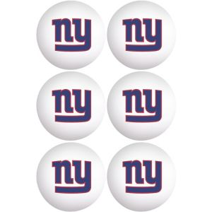 New York Giants Pong Balls 6ct