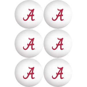 Alabama Crimson Tide Pong Balls 6ct