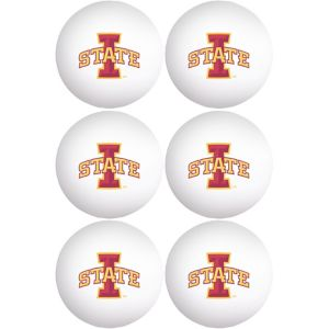 Iowa State Cyclones Pong Balls 6ct