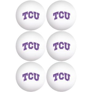 TCU Horned Frogs Pong Balls 6ct