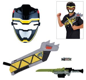 Black Ranger Accessory Kit 4pc - Power Rangers Dino Super Charge