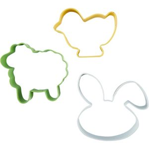 Easter Cookie Cutter Set 3pc