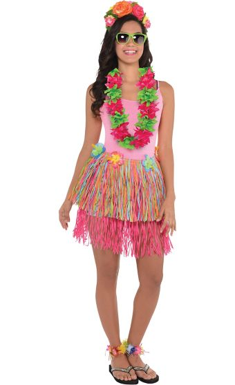 Adult Luau Costume Accessory Kit Party City