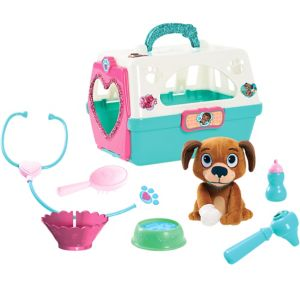 Doc McStuffins Pet Carrier with Plush Dog Playset 9pc