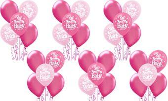 Welcome Baby Girl Balloon Kit 30ct