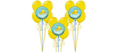 Bubble Bath Baby Shower Balloon Kit 15ct