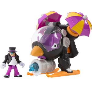 Imaginext Penguin Copter Playset 5pc