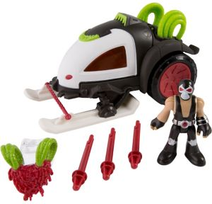 Imaginext Bane Battle Sled Playset 7pc
