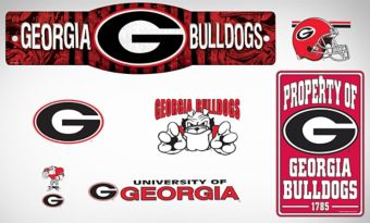 Georgia Bulldogs Dorm Room Kit