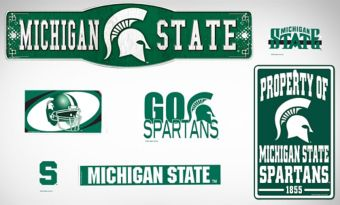 Michigan State Spartans Dorm Room Kit
