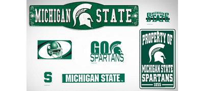 Michigan State Spartans Dorm Room Kit