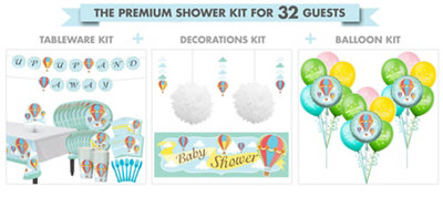 Baby Up & Away Premium Kit 32 Guests