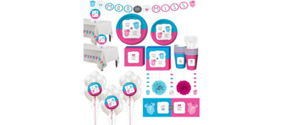 Gender Reveal Premium Kit 32 Guests